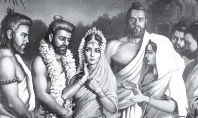 kunti-draupadi-and-5-pandava-brothers-marathipizza