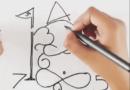 या महिलेने १ ते ९ अंकांच्या सहाय्याने साकारल्या गणेशाच्या प्रतिमा !