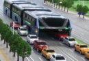 चीनची आणखी एक किमया: ट्रॅफिकवरुन चालणारी एलिव्हेटेड बस