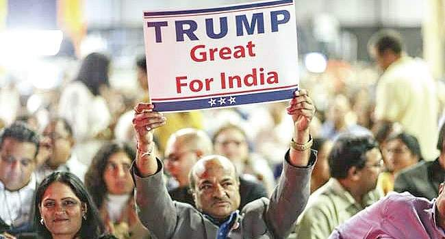 Donald Trump Great for India marathipizza