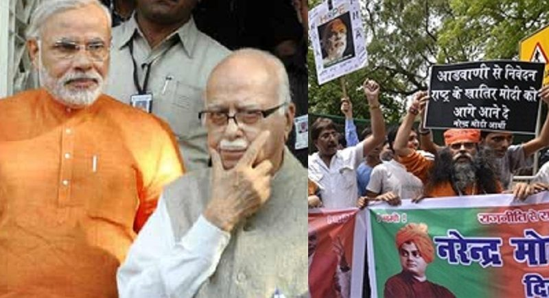 Modi-army-Advani-marathipizza