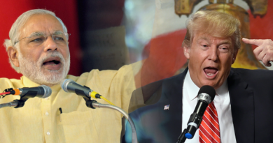 trump and modi marathipizza