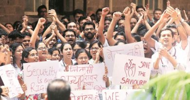recident doctors violence strike marathipizza