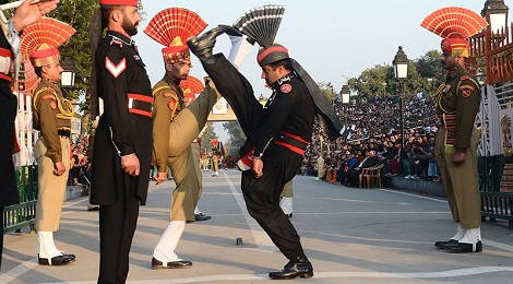 wagah border ceremony-marathipizza00