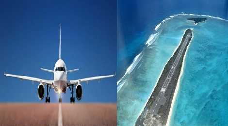 Lakshadweep Flight Runway.Inmarathi00