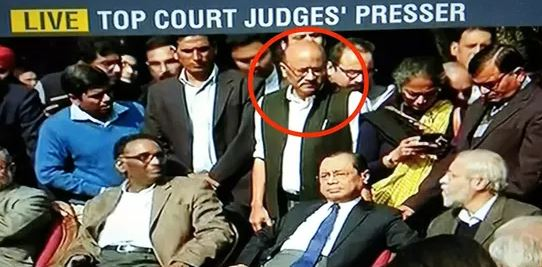 4 judges press conference shekhar gupta inmarathi