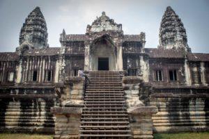 Angkor wat temple.Inmarathi