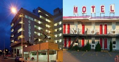 Difference between hotel and other things.Inmarathi00