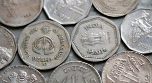 Why size of the coin is decreasing.Inmarathi