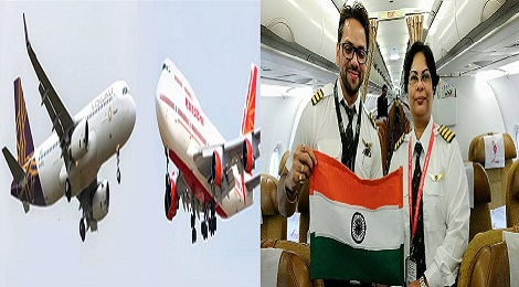 Air india's woman pilot saved passengers.Inmarathi00