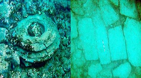 Zakynthos underwater city.Inmarathi00