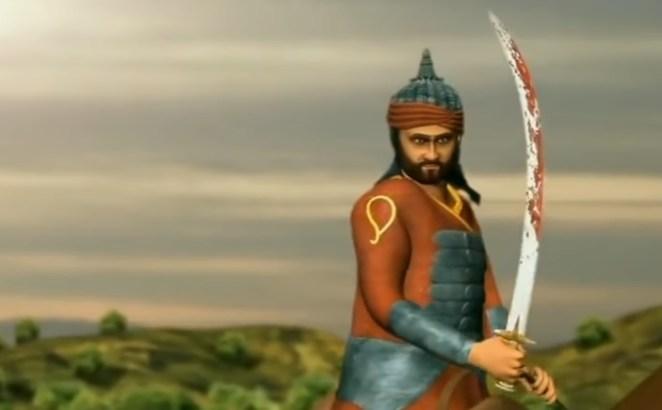 Hakim-Kha-Sur-Haldighati-Battle-inmarathi