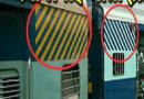 ट्रेनच्या डब्यांवर पिवळ्या आणि पांढऱ्या रंगांचे पट्टे का असतात? जाणून घ्या..