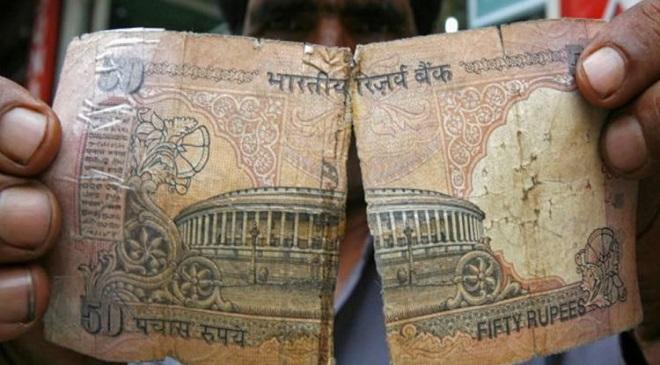 Mutilated note-inmarathi