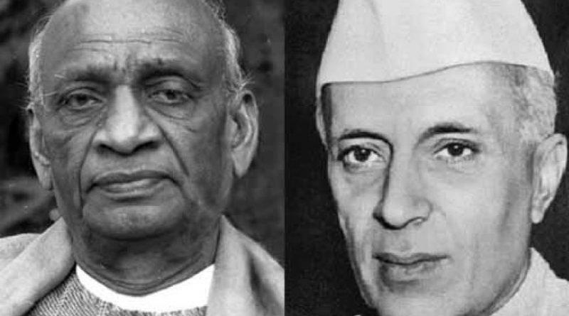 sarhar-patel-and-jawaharlal-Nehru-inmarathi
