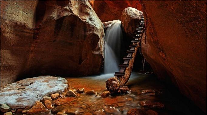 Upper kanarra falls