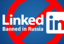 रशियामधे LinkedIn वर बंदी !