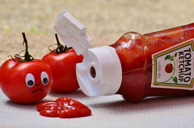 tomato ketchup inmarathi
