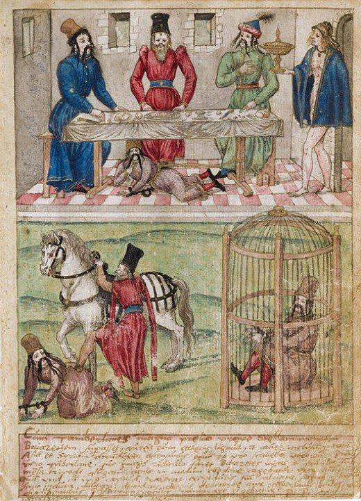 timur-imprisones-ottomet-sultan-bayezid-marathipizza