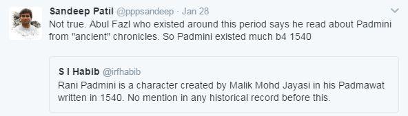 allauddin khilji tweet reply marathipizza