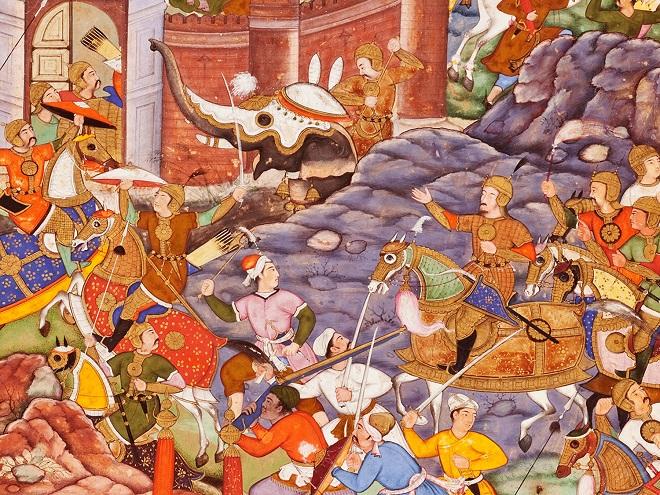 battle emperor InMarathi