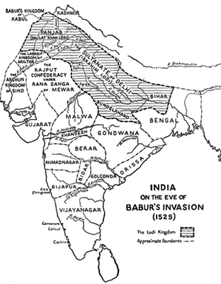 first_battle_of_panipat_babar empire marathipizza
