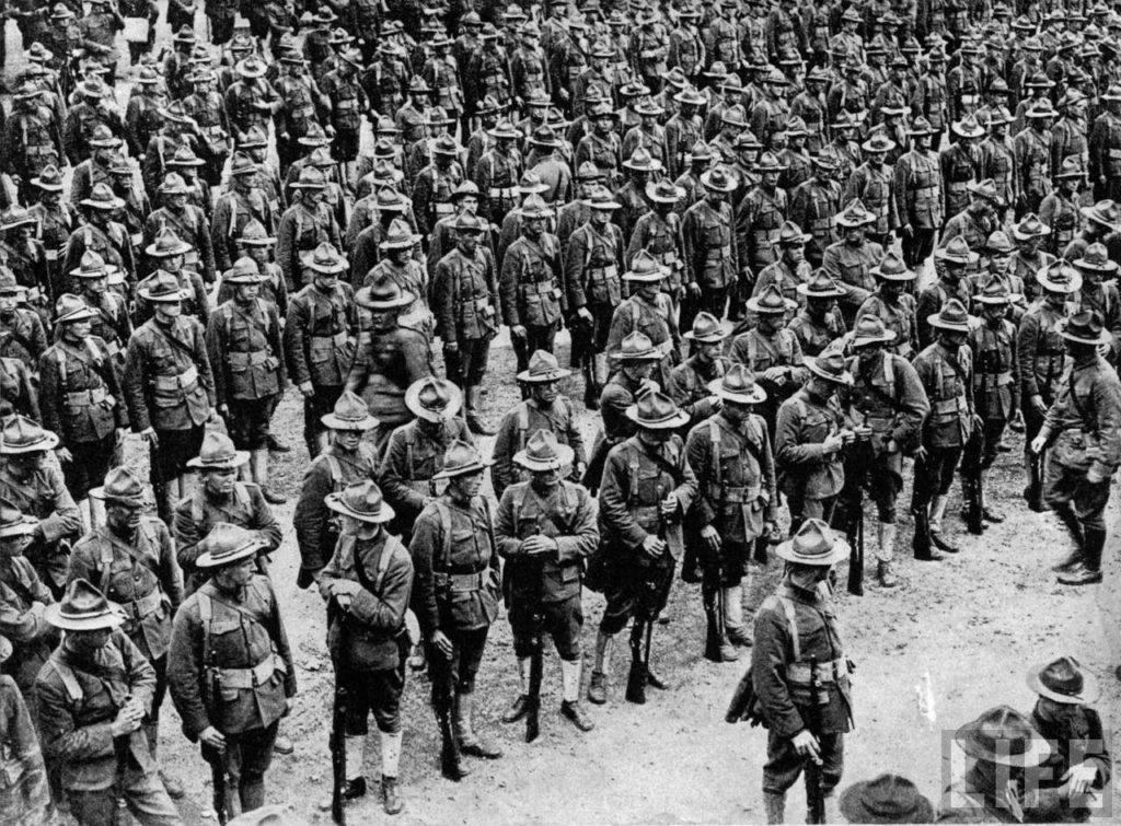Americans in World War I marathipizza
