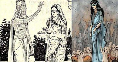 Kunti and Kauravas inmarathi