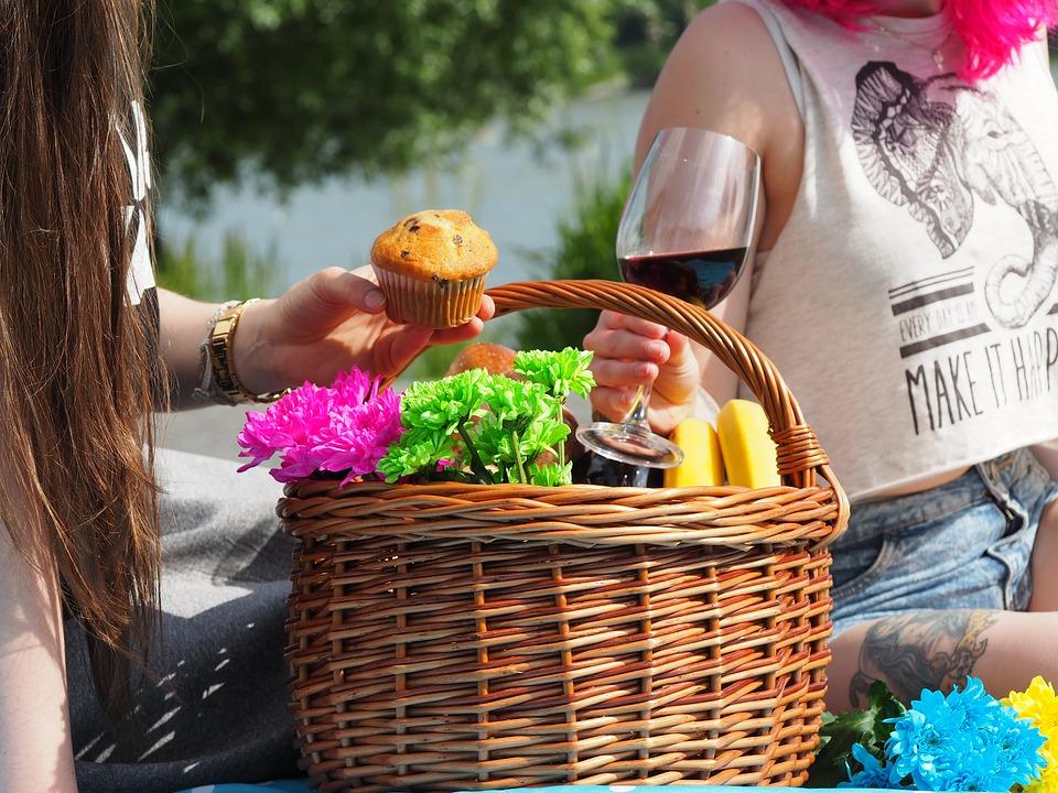 basket picnic marathipizza