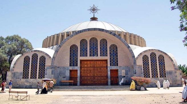 ledy mary church ethiopia InMarathi