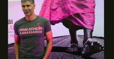 pinkathlon-milind soman marathipizza