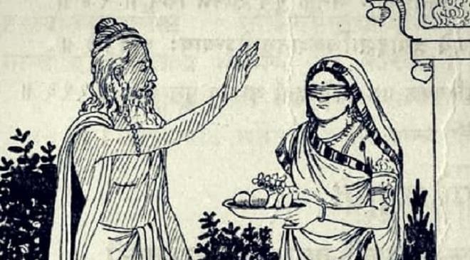 vyas and gandhari InMarathi