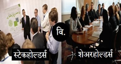 Difference-between-stakeholder-and-shareholder inmarathi