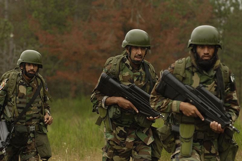 Pakistan Air Force SSG Special Services Group-marathipizza