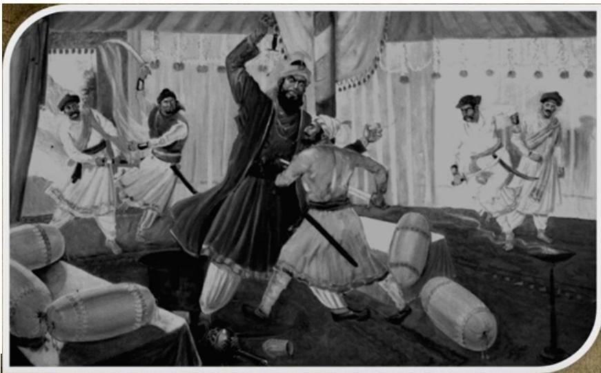 Shivaji Maharaj Afzal Khan Sword marathipizza