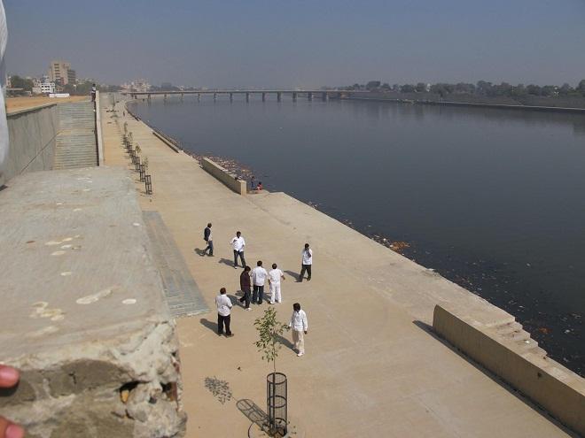 MNS Ahemadabad tour Sabarmati River Project 01 marathipizza