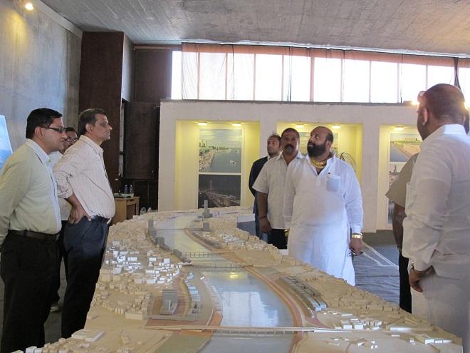 MNS Ahemadabad tour Sabarmati River Project 03 marathipizza