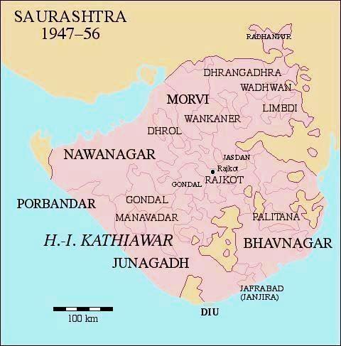 SaurashtraKart junagadh sansthan princely state marathipizza