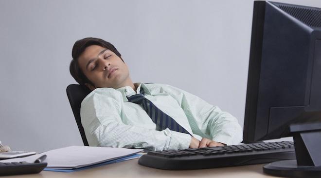 Sleepy Young Man InMarathi