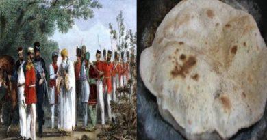 chapati movment inmarathi