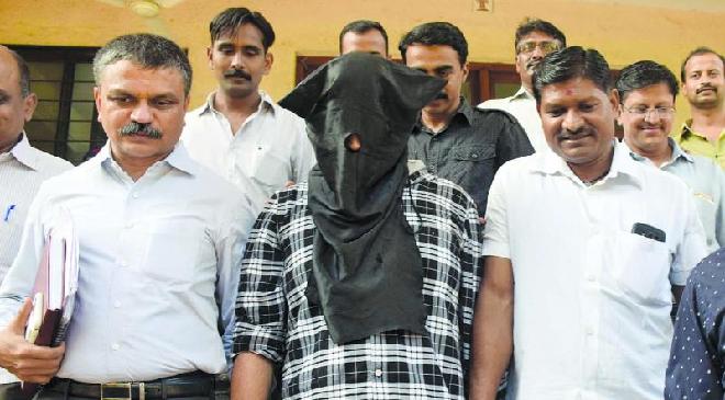 criminal face covered inmarathi