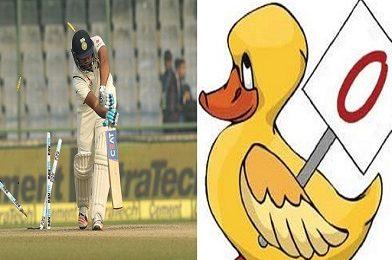 क्रिकेटमध्ये Zero ला Duck का म्हणतात? जाणून घ्या यामागचं कारण