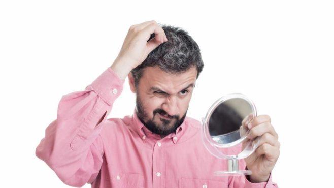 grey hair problem