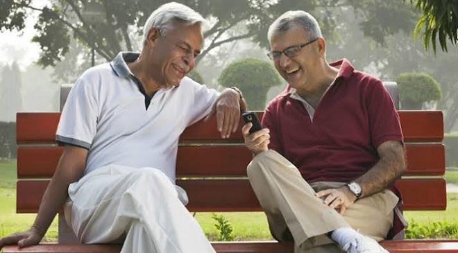 retired old people inmarathi