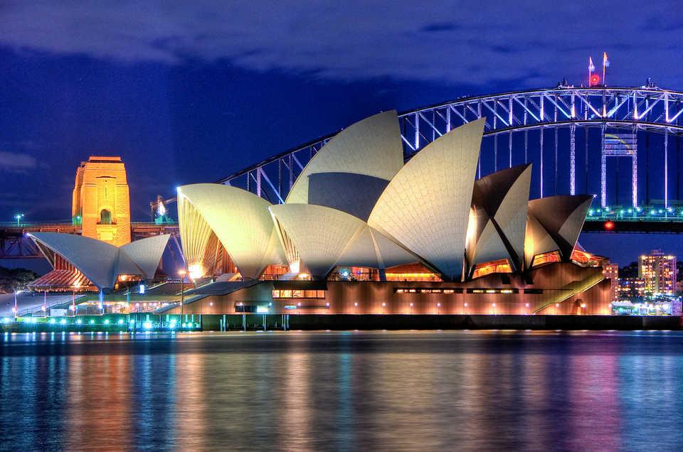 opera house australia inmarathi