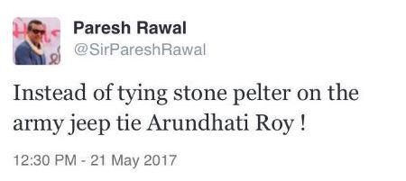 paresh rawal tweet marathipizza