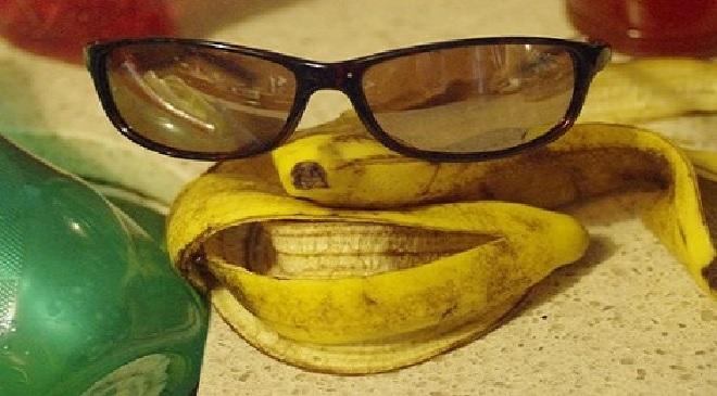 banana peels inmarathi