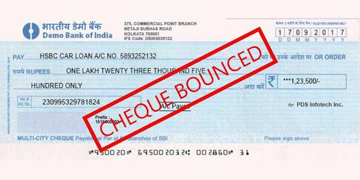 cheque bounced inmarathi