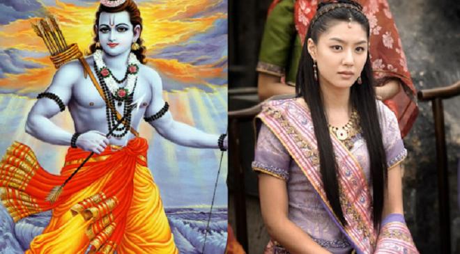 korean indian queen inmarathi