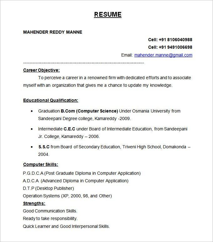 resume-marathipizza